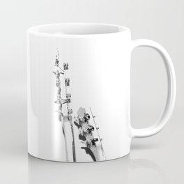 The Guitars (Black and White) Coffee Mug