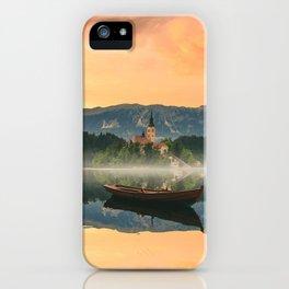 Golden Getaway iPhone Case