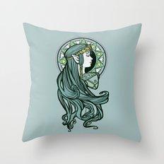 Zelda Nouveau Throw Pillow