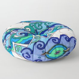 Polarbears Floor Pillow