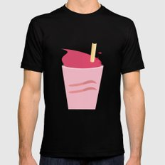Drink Up! Mens Fitted Tee MEDIUM Black
