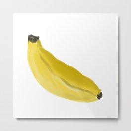 Banana by Darren M Metal Print