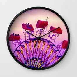 Rides of Summer Wall Clock