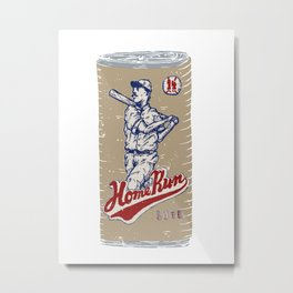 Home Run Lite Metal Print
