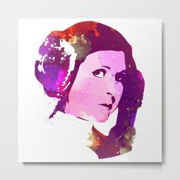 LEIA ORGANA, Princess Metal Print