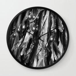 Cromer Seaweed, Norfolk Wall Clock