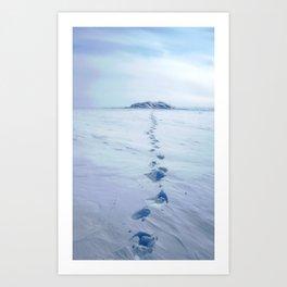 A Long Walk Art Print