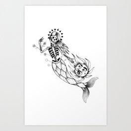 Veracruz de mi amor Art Print