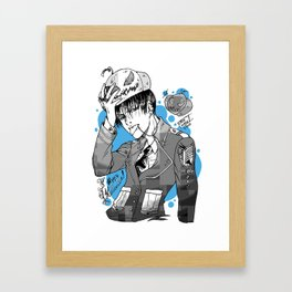 Halloween-Levi! Framed Art Print