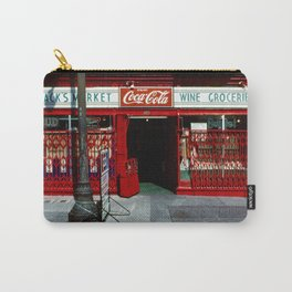 Red Number 2 Jack's Market by David Hohmann.   Carry-All Pouch