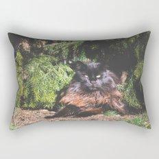 The king of the cats Rectangular Pillow