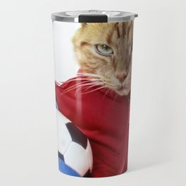 The Cat is #Adidas Travel Mug