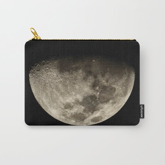 Moon Black 4 Carry-All Pouch