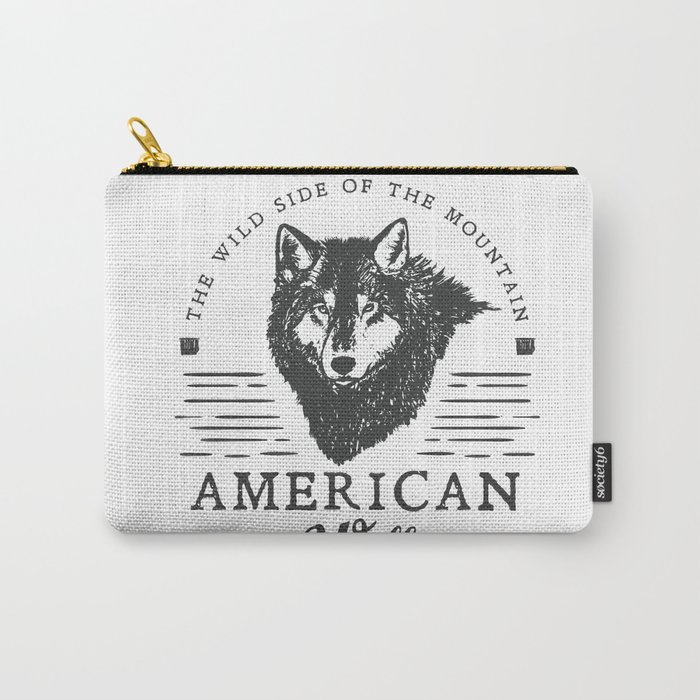 American Wolf Carry-All Pouch