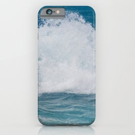 Hookipa Splash Waves Beach Break Shore Break Pacific Ocean Maui Hawaii iPhone Case