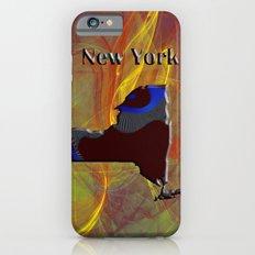 New York Map iPhone 6s Slim Case