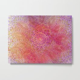 pink blast Metal Print