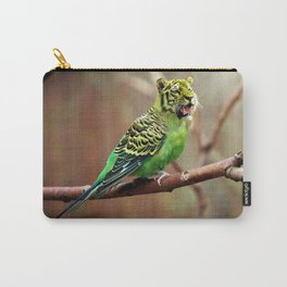 Tiger Parakeet Carry-All Pouch