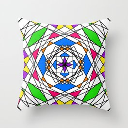 Spindle II Throw Pillow