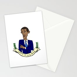 President VS Heckler Stationery Cards