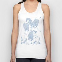mermaids Tank Tops featuring Mermaids by Veils and Mirrors