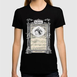 Frederick Chopin Polonaise art T-shirt
