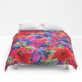 Spring Tulip Garden Comforters