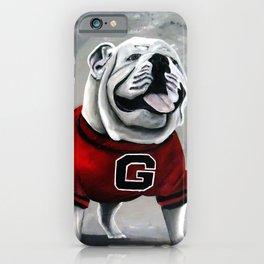 UGA Georgia Bulldogs Mascot iPhone Case