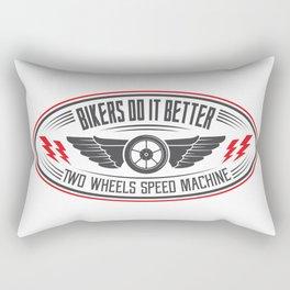 TWO WHEELS SPEED MACHINE Rectangular Pillow