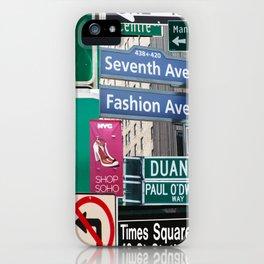 New York City Streets iPhone Case