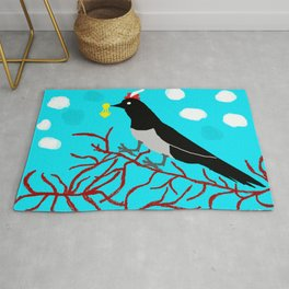 The Magpie Rug