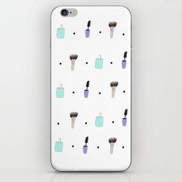 Makeup Pattern iPhone Skin