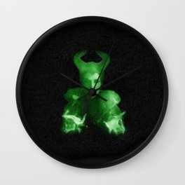 Maleficent's Evil Spell / Sleeping Beauty Wall Clock