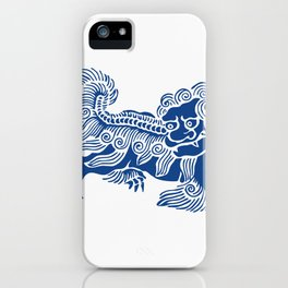 Lucky Lion iPhone Case