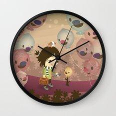 Balloon Tree Song Wall Clock