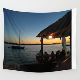 Croatian Sunset Wall Tapestry