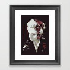 the fair-haired geisha Framed Art Print