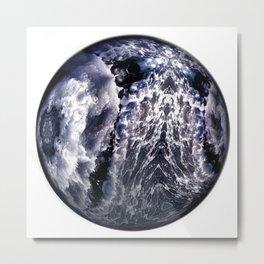 Globe10 Metal Print