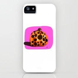 Kusama's Pumpkin iPhone Case