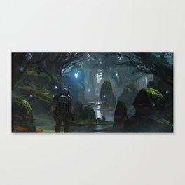 Hero's Grove Canvas Print