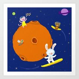 Space Fun Art Print