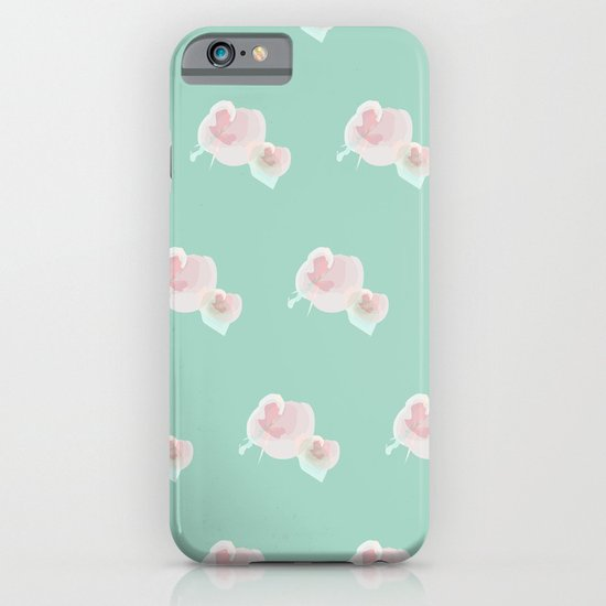 Dope Floral Teal iPhone & iPod Case