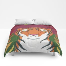 Fire Tiger Comforters