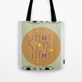 Aldo Van Eyck Meets Jamini Roy Tote Bag