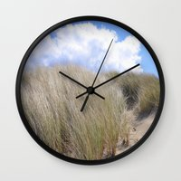 dune Wall Clocks featuring Dune 2  by  Agostino Lo Coco