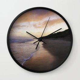 An Autumn Morning Wall Clock