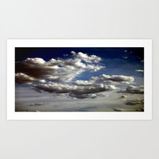 Cloud Formations Art Print