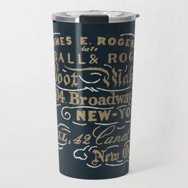 Kimball & Rogers Boot Blackers Travel Mug