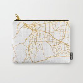 CAPE TOWN SOUTH AFRICA CITY STREET MAP ART Carry-All Pouch