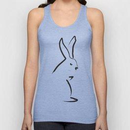 Zen Snow Bunny Unisex Tanktop